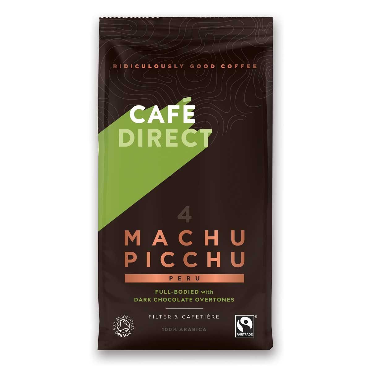 Machu Picchu ground coffee �C The Fairtrade Kitchen Cupboard1200 x 1200 jpeg 62kB